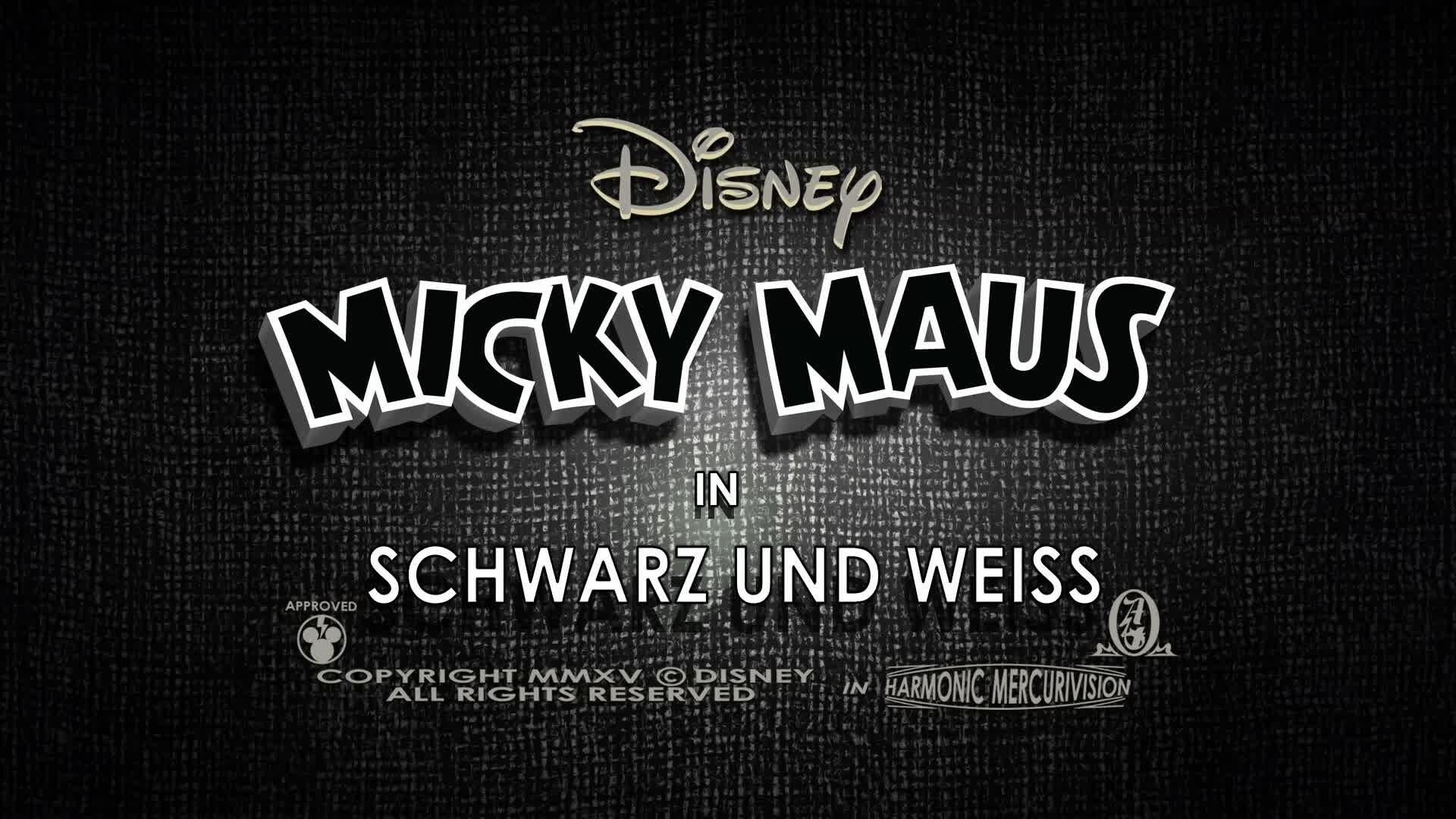 Micky Short: Schwarz und Weiss