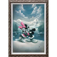 Image of Mickey Mouse and Minnie ''Alaska Adventure'' Giclée by Noah # 2