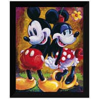 Image of Mickey Mouse and Minnie ''Two Hearts'' Giclée by Darren Wilson # 6