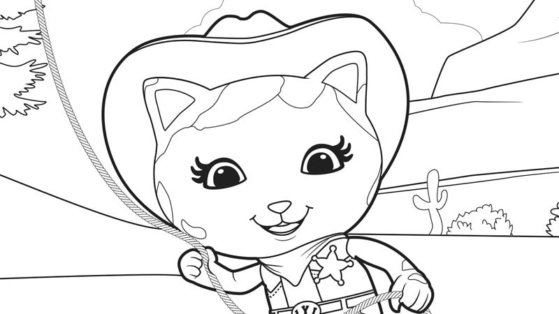 Sheriff Callie and Sparky Disney Junior India