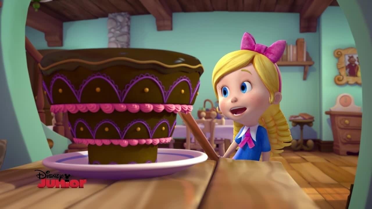 Riccioli d'oro e Orsetto - la torta di cioccolato sottosopra