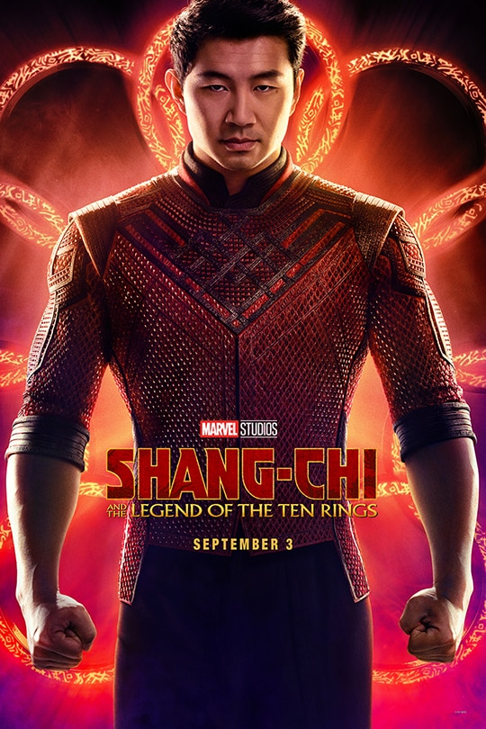 Marvel Studios | Shang-Chi and The Legend of The Ten Rings | September 3 | movie poster