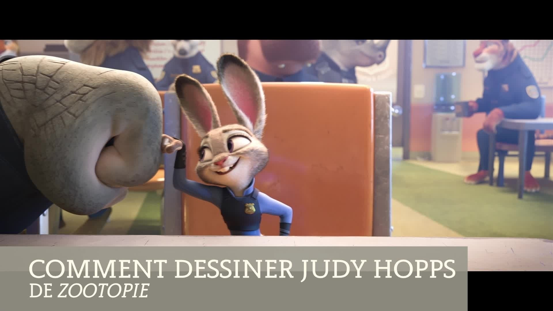 Zootopie : apprends à dessiner Judy