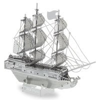 Black Pearl Metal Earth 3D Model Kit