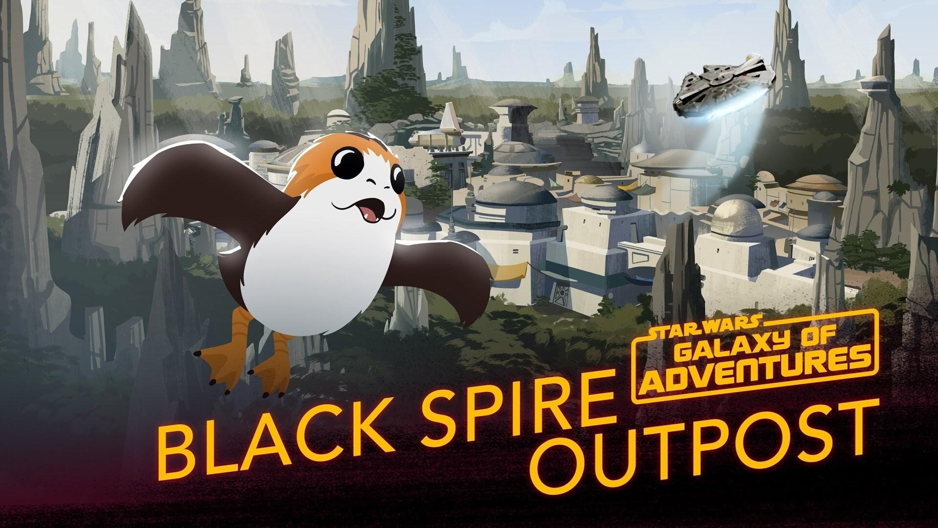 Black Spire Outpost | Star Wars Galaxy of Adventures