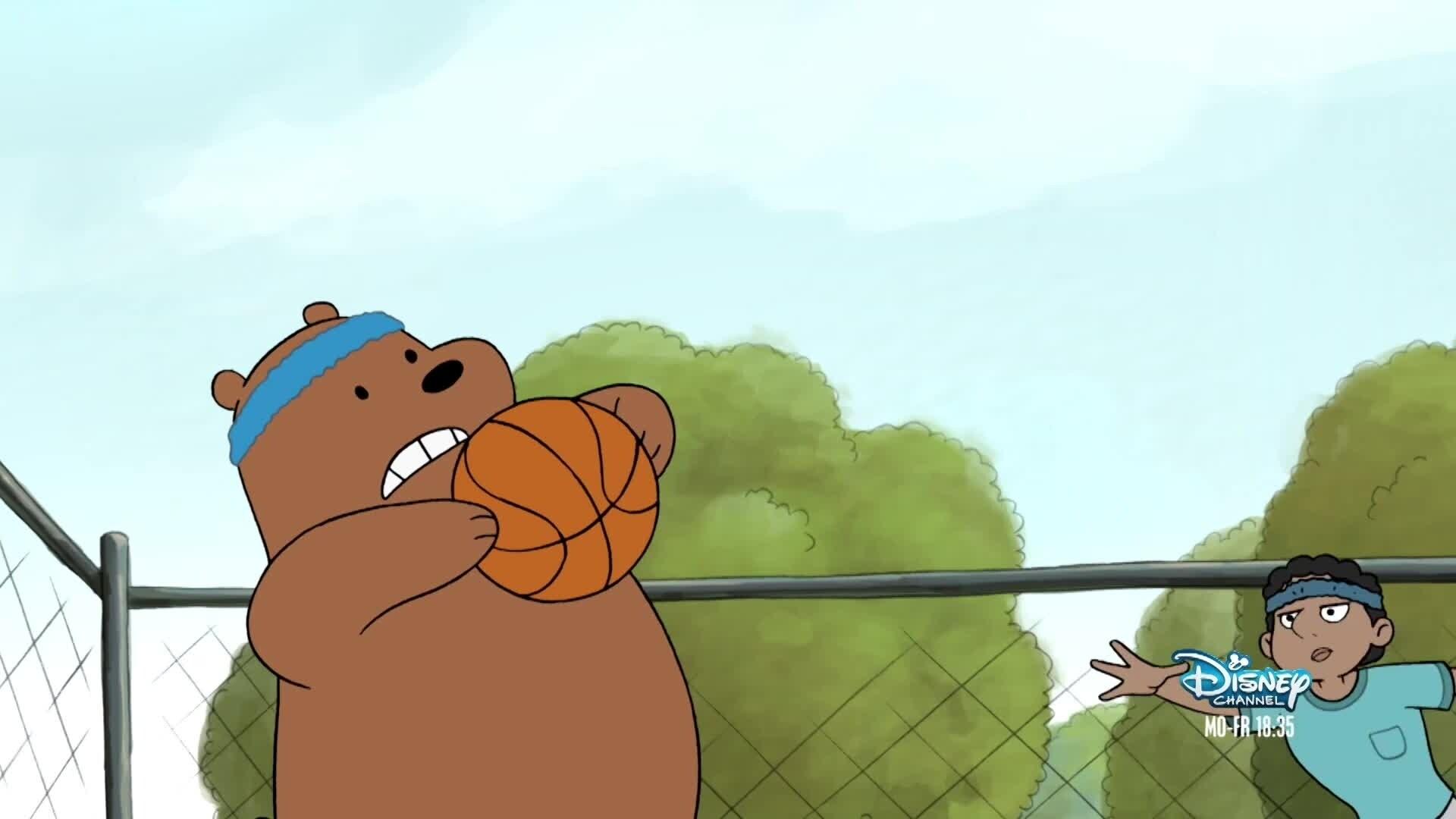 Bären wie wir Szene S1 - Basketball
