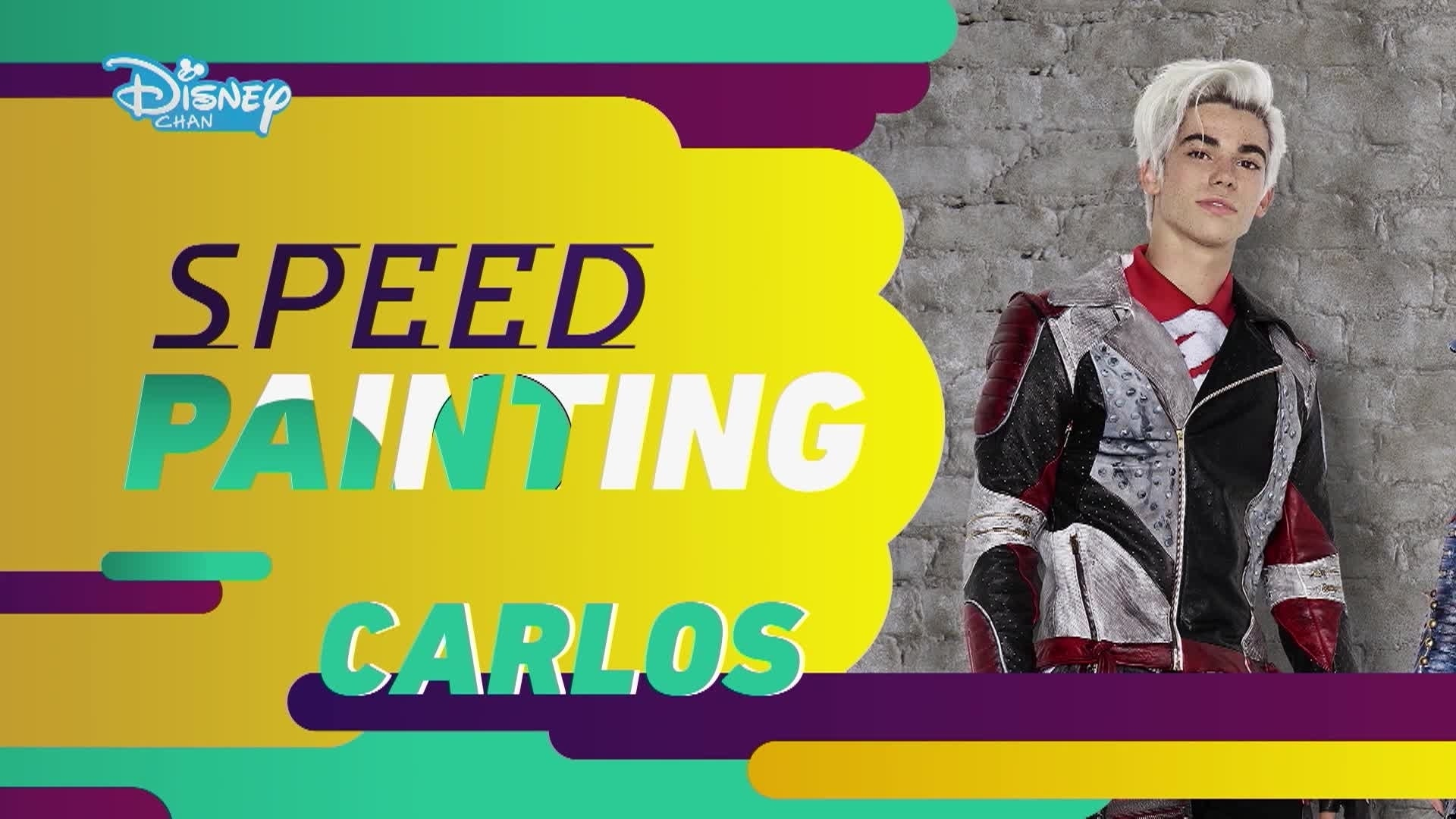 Os Descendentes 2:  Speed Painting - Carlos
