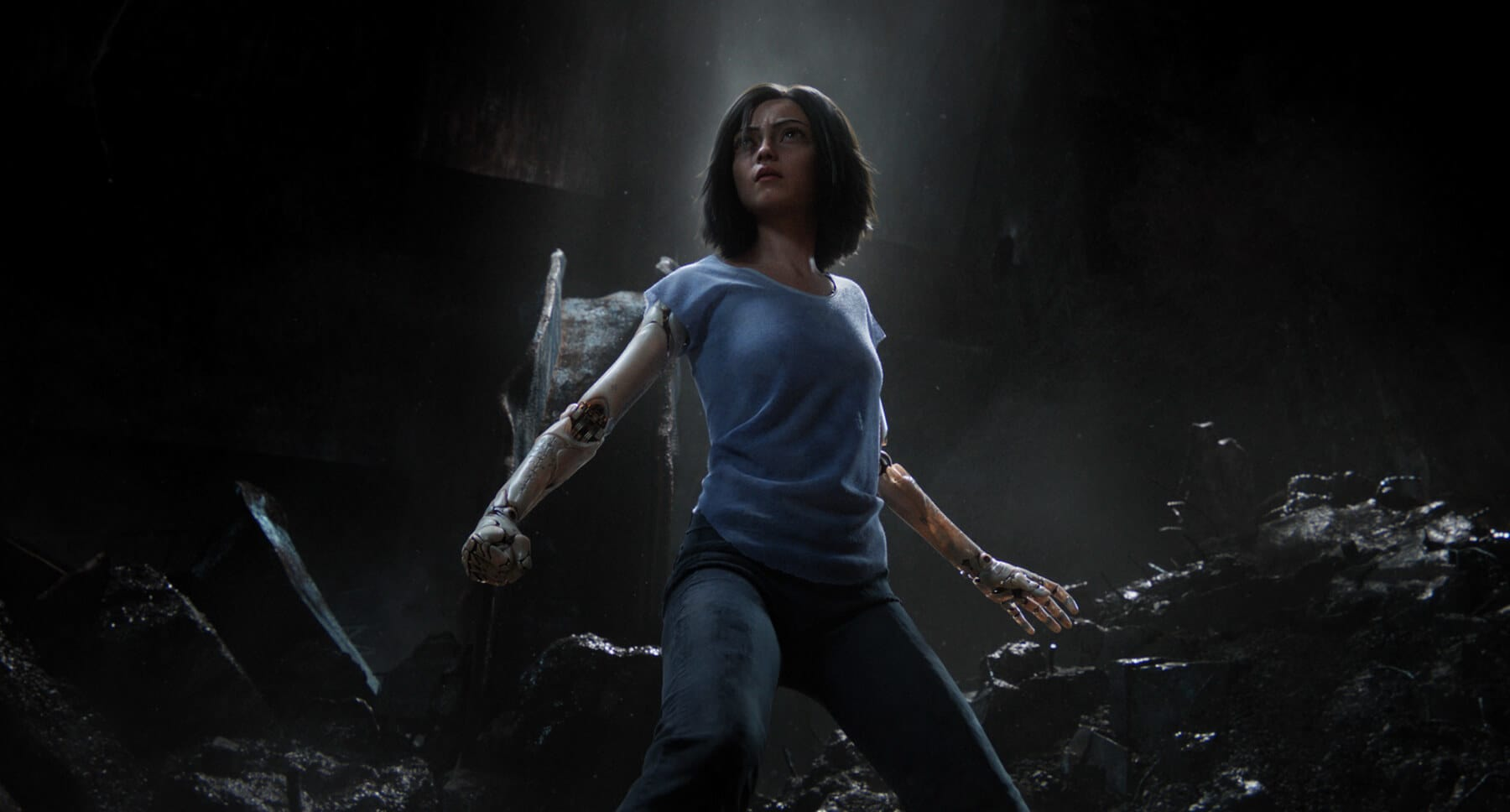 Rosa Salazar as Alita from the movie Alita: Battle Angel