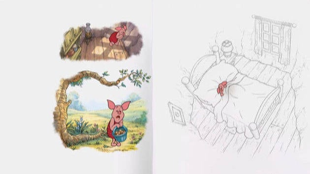 """""""Piglet, el valiente"""" - Winnie Pooh"""