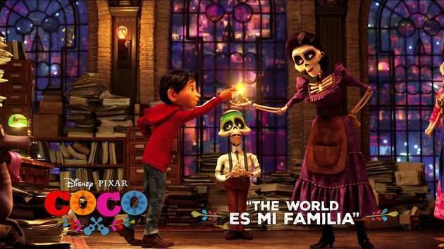 Coco Song Snippet: The World Es Mi Familia