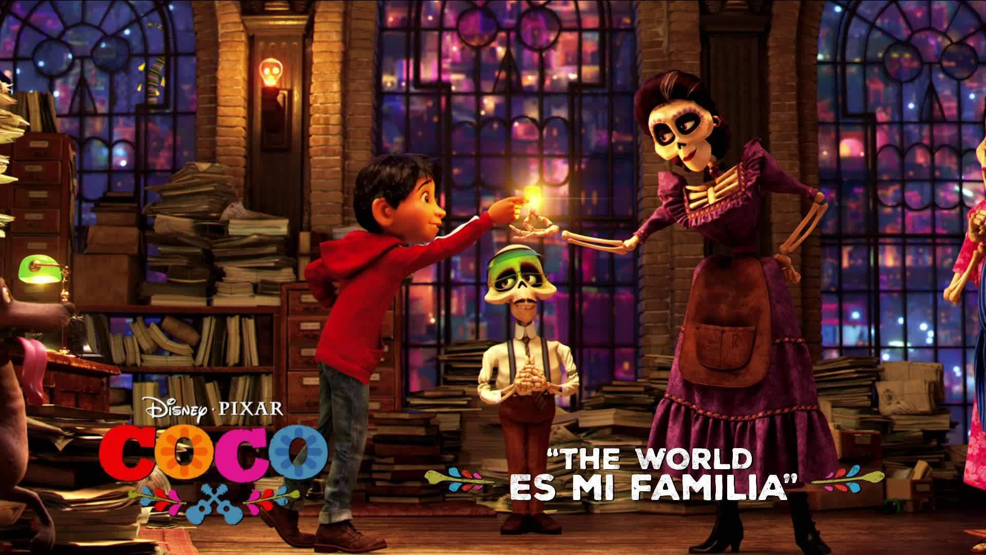 Coco Song Snippet: The World Es Mi Familia