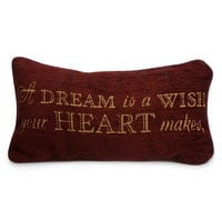 Image of Cinderella Pillow - ''A Dream is a Wish Your Heart Makes'' # 1
