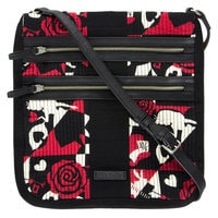 Alice in Wonderland Painting the Roses Red Hipster Bag by Vera Bradley