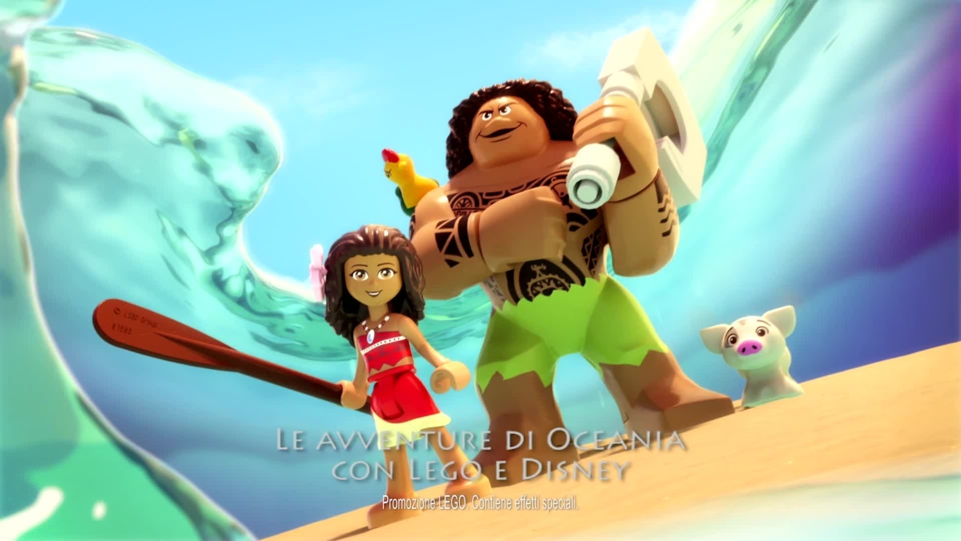 LEGO® Disney e le avventure di Vaiana