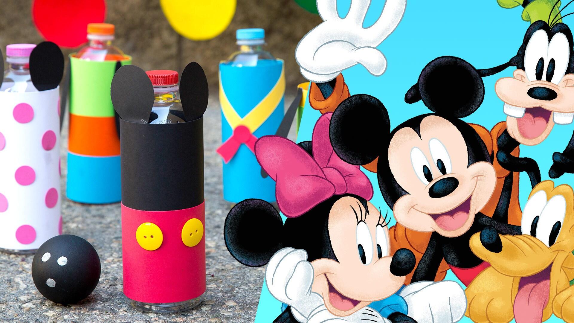 Mickey & Friends DIY Bowling Set | Disney Family