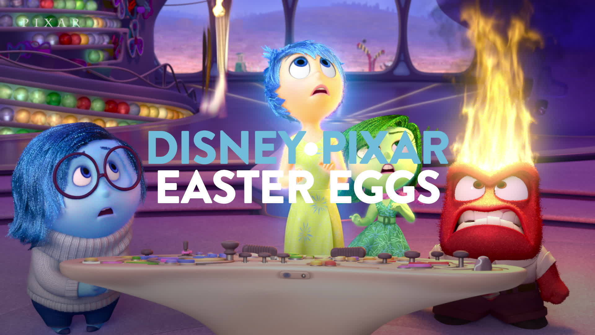 Our Favorite Pixar Hidden Easter Eggs & Secrets Part 1 | Pixar