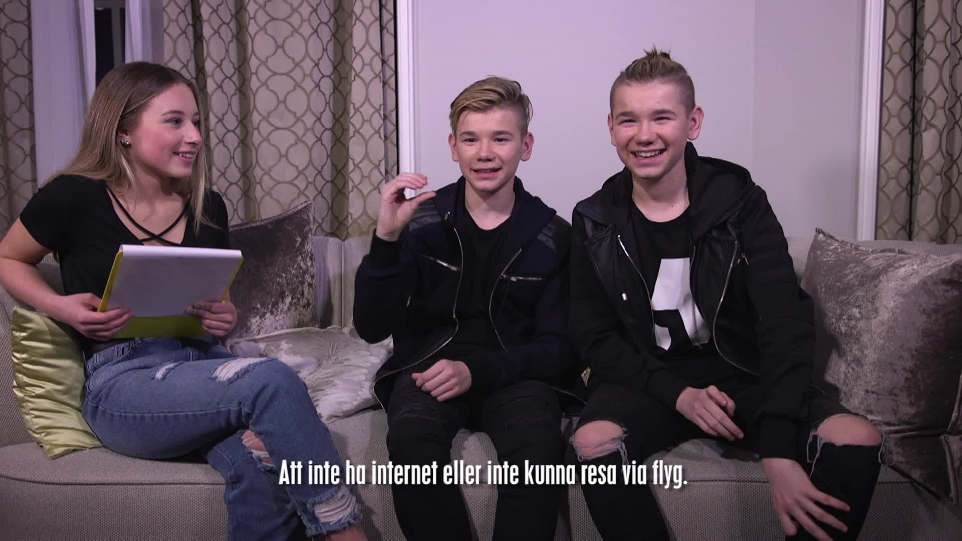 Trailer - Marcus och Martinus i Disney Channel-appen!