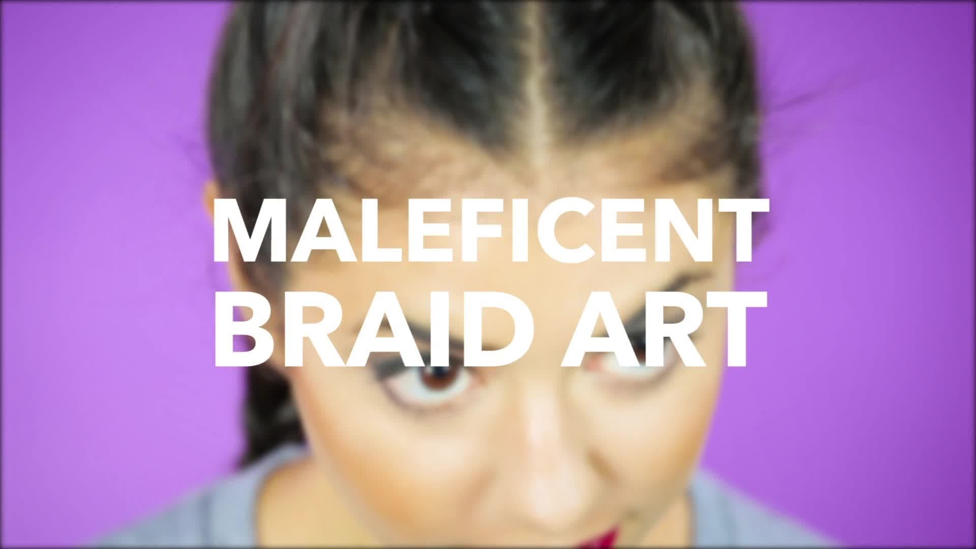 Disney Style: Maleficent Braids