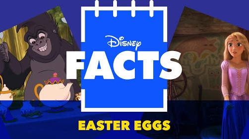 Hidden Easter Eggs in Disney Films | Disney Facts by Disney
