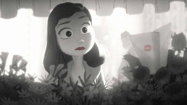 Paperman Teaser Trailer