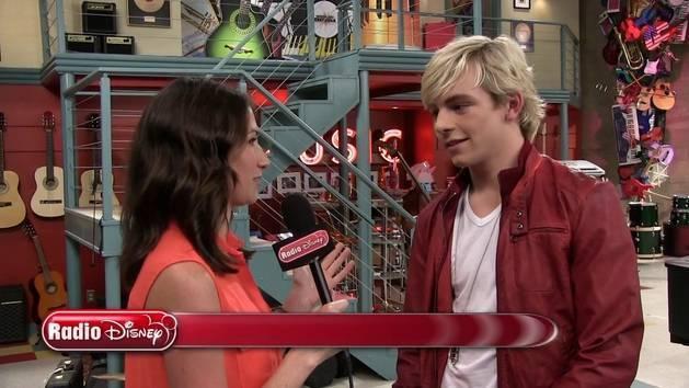 On the Set of Austin & Ally - Radio Disney