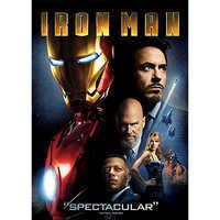 Image of Iron Man DVD # 1