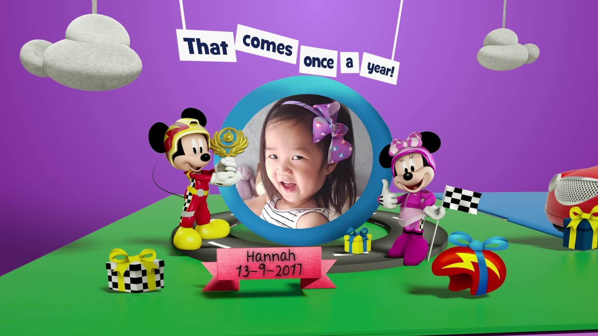 Disney Junior Birthday Book 2020 September Album 1
