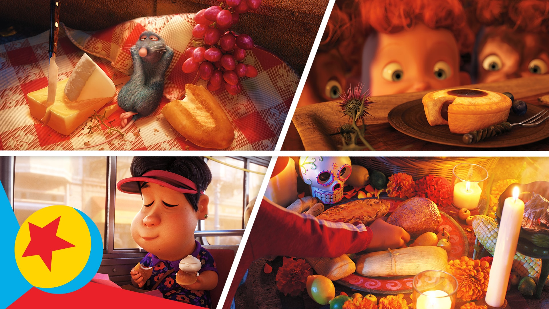 The Best of Pixar Foods | Pixar
