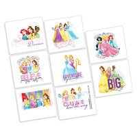 Disney Princess Tattoos - 2 Pack