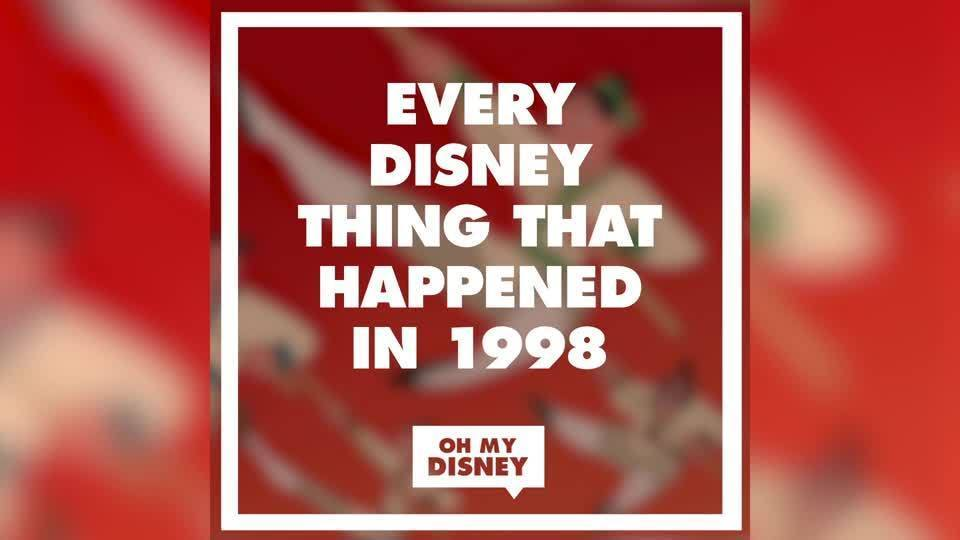 Every Disney Thing That Happened in 1998 | Oh My Disney