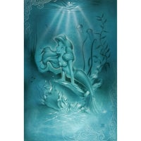 Image of Ariel ''Little Mermaid'' Giclée by Noah # 1