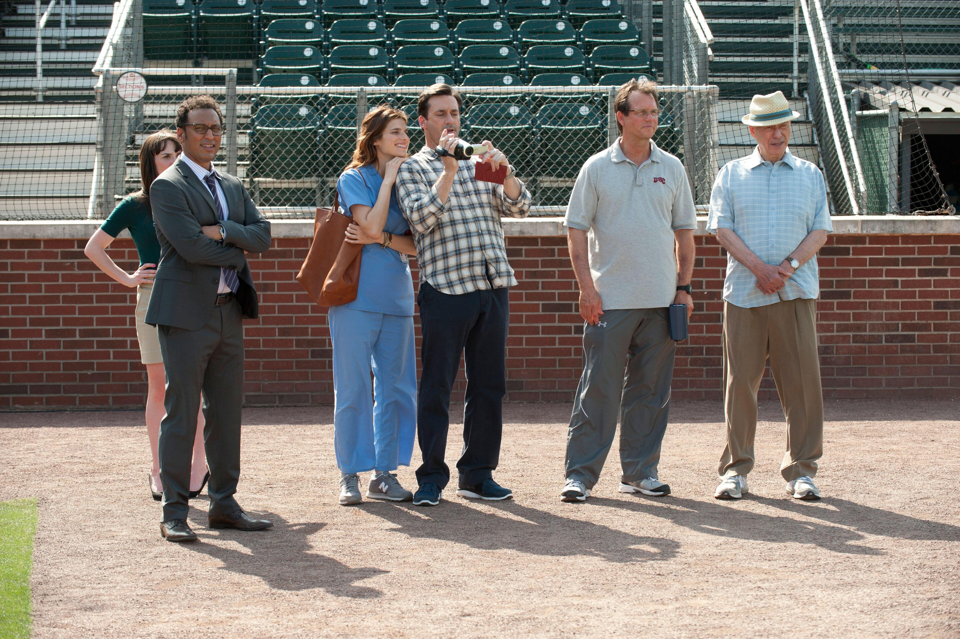 "Jon Hamm, Lake Bell and Bill Paxton in ""Million Dollar Arm"""