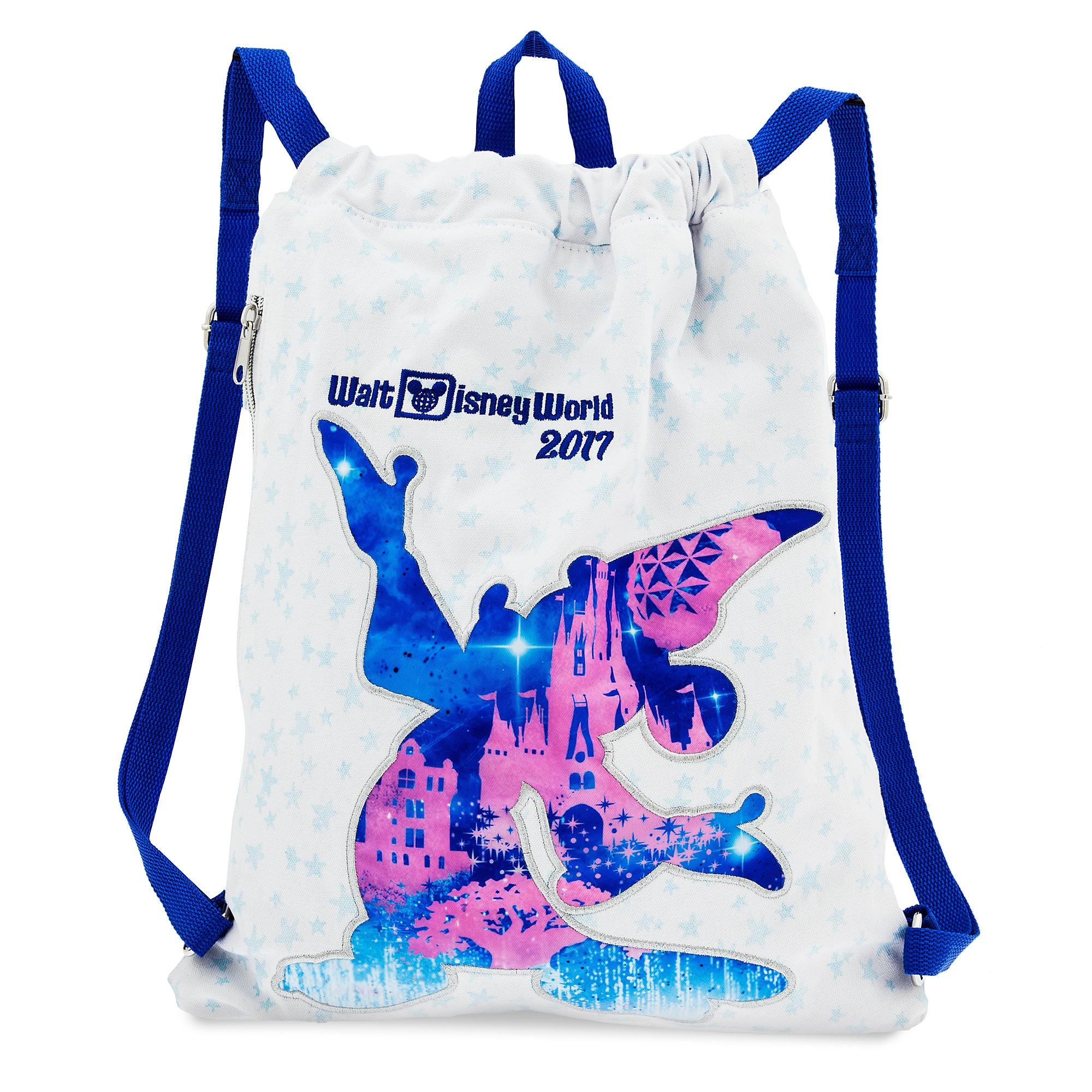 Sorcerer Mickey Mouse Cinch Sack Tote - Walt Disney World 2017