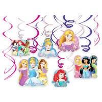 Disney Princess Swirl Decorations Set