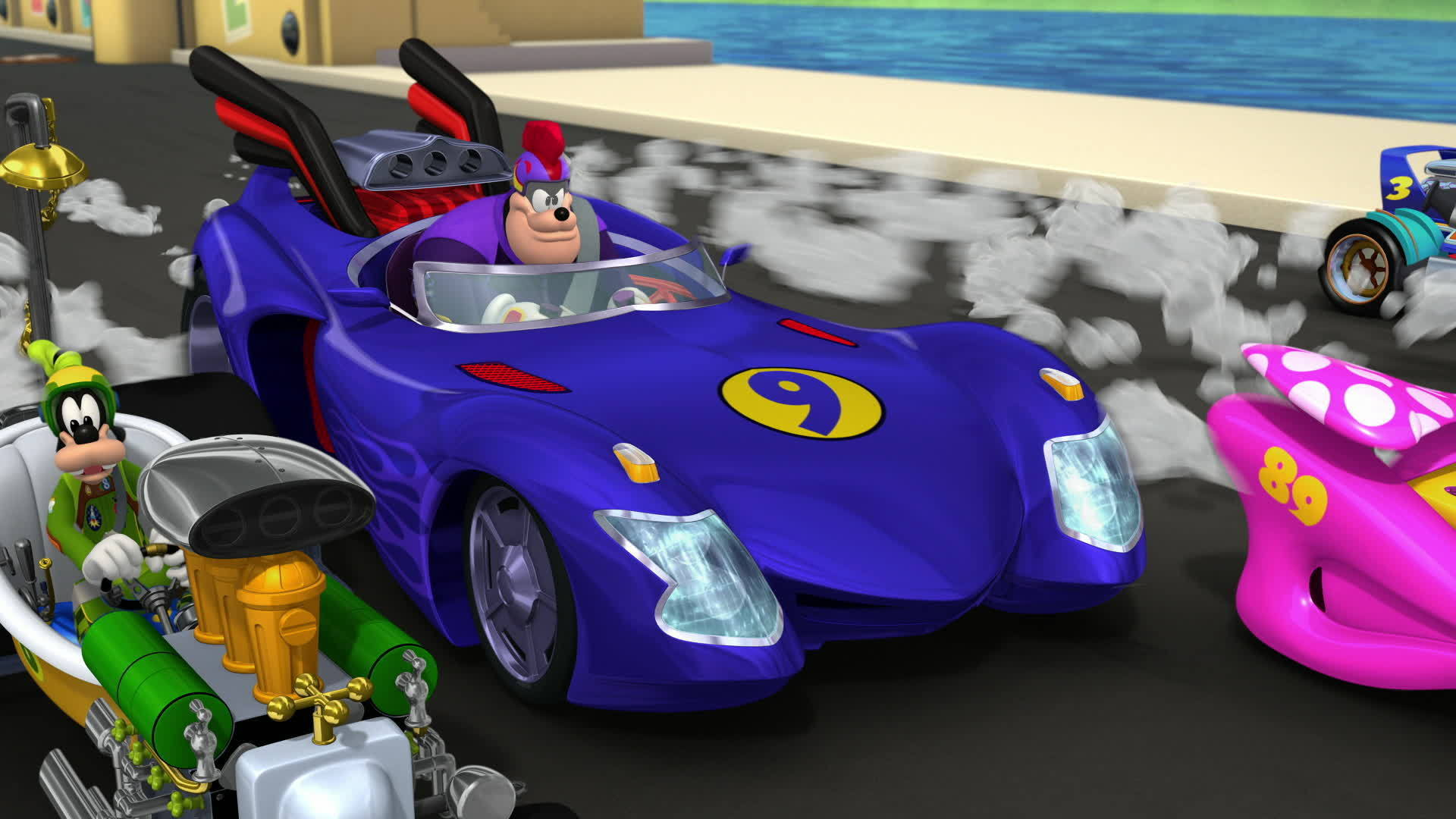 Music Video: Roadster Racers Go