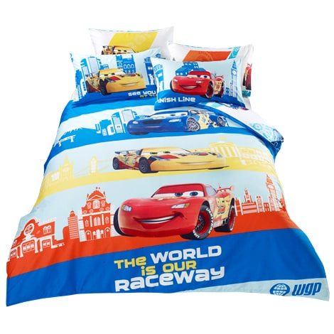 Disney.Pixar Cars Bedding Set - Raceway A