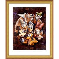 Image of Mickey Mouse and Friends ''Super Gang'' Giclée by Darren Wilson # 4