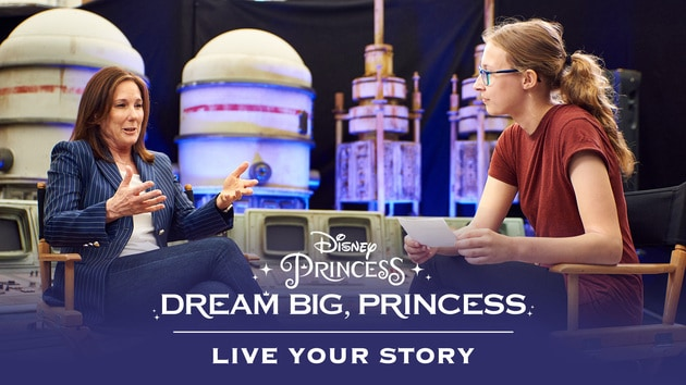Dream Big, Princess - Maud Meets Kathleen Kennedy | Disney