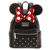 Image of Minnie Mouse Icon Mini Backpack by Loungefly # 1