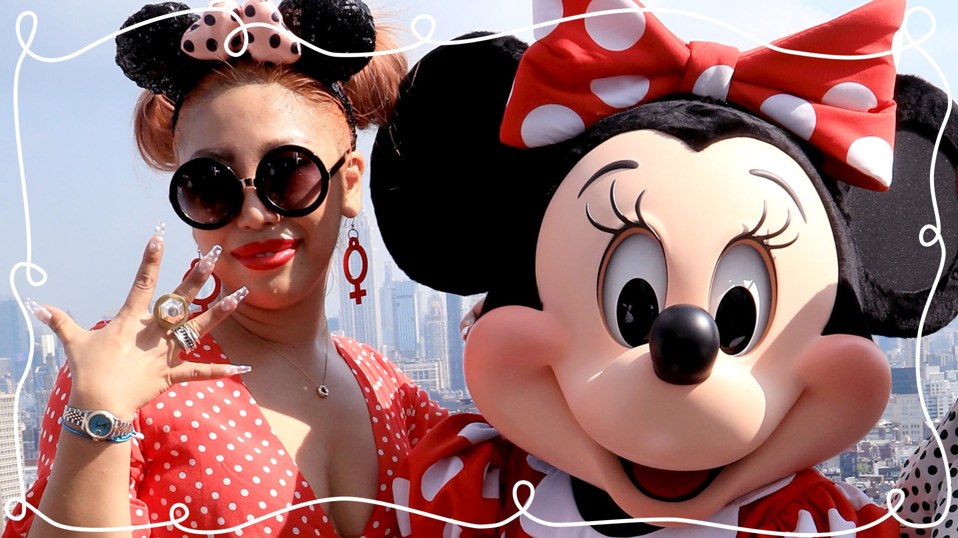 Minnie Style Nail Art with Britney Tokyo   Disney Style