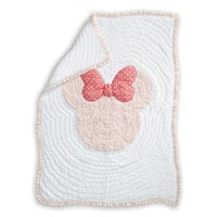 Image of Minnie Mouse Really Ruffle Toddler Quilt by Ethan Allen # 1
