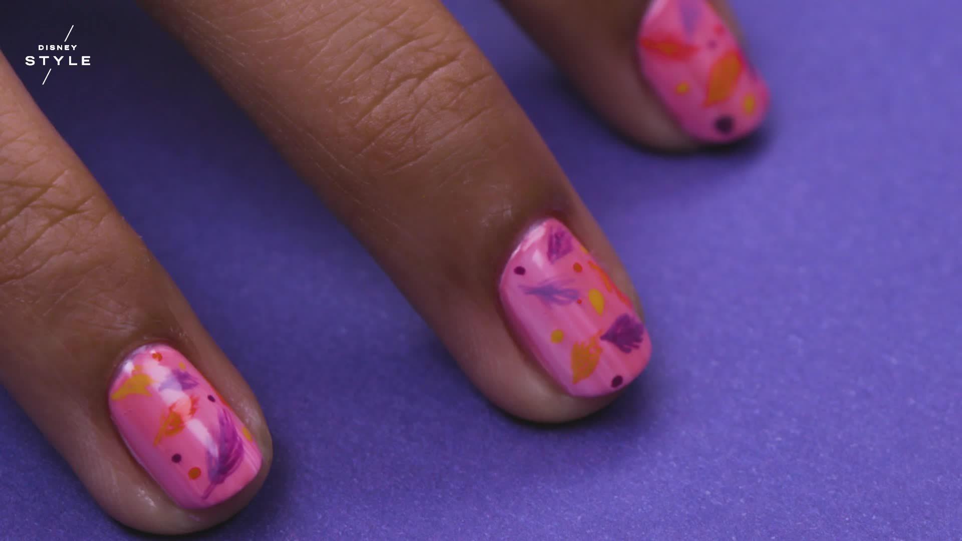 Pocahontas Nail Art | TIPS by Disney Style