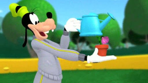 Goofy's Sprinkling Can
