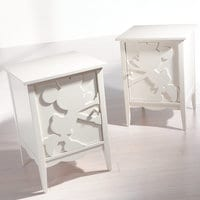 Minnie Mouse Shadow Cabinet by Ethan Allen - Left