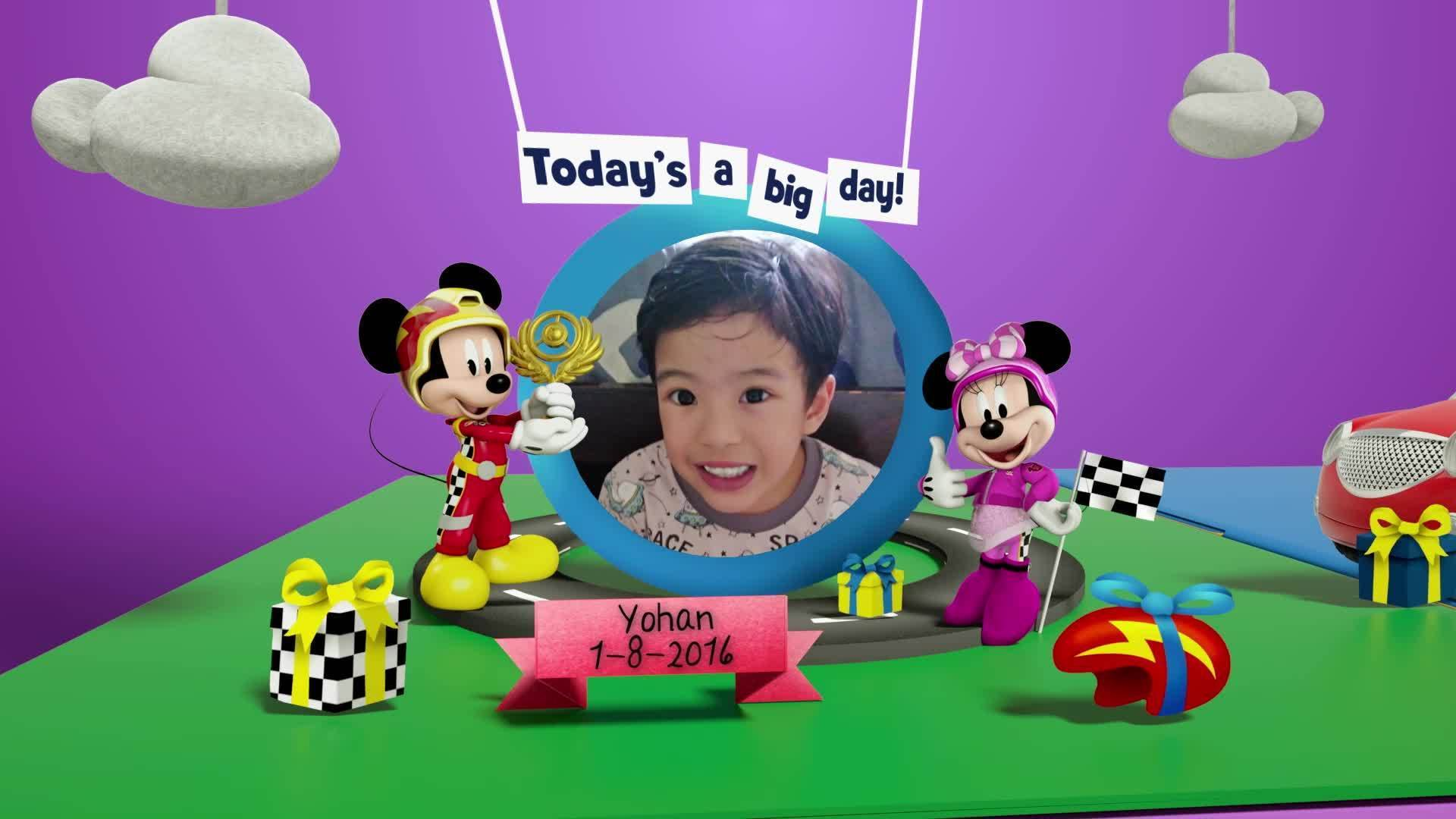 Disney Junior Birthday Book 2021 August Album 4