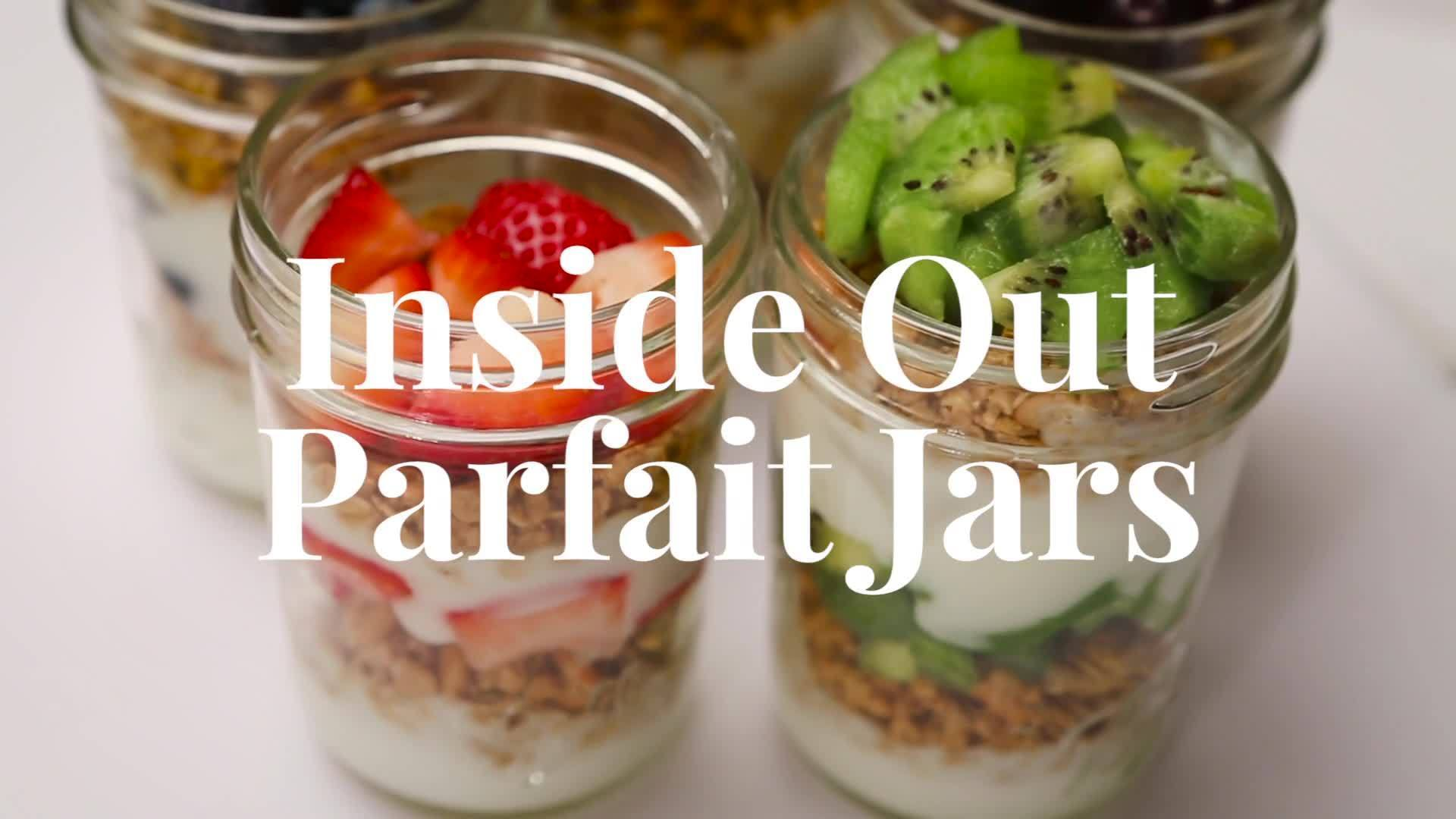 Inside Out Emotion Parfaits   Dishes by Disney