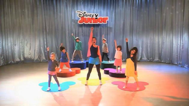 Dansa med Disney Junior - Tre stycken steg