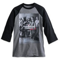 Guardians of the Galaxy Vol. 2 Raglan Cast Tee for Men