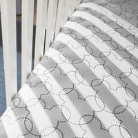 Image of Mickey Mouse Dash Crib Sheet by Ethan Allen # 2