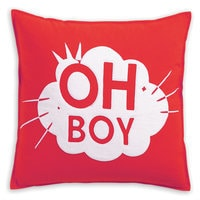 Mickey Mouse Oh Boy Pillow by Ethan Allen